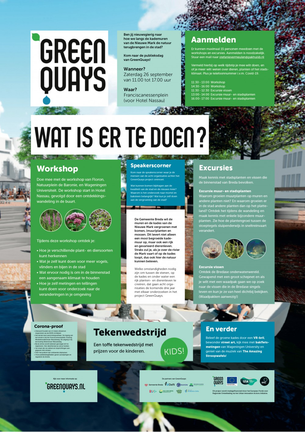GreenQuays - Publieksdag